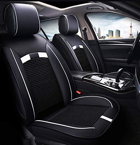Wsjfc Leather Ice Silk Car Seat Cover - Non-slip suede universal seat cushion for leather car seats,B,D: Amazon.co.uk: Sports & Outdoors