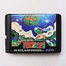 Super Fantasy Zone 16 bit SEGA MD Game Card For Sega Mega Drive For Genesis ,Sega Genniess-Sega Ninento,16 bit MD Game Card