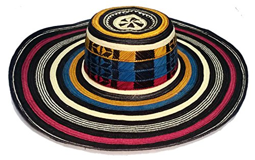 Colombian Hat Colored Sombrero Sinuano 21 Vueltas Laps Made By Colombian Artisans Highest Quality