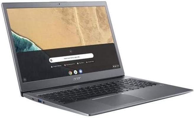 "Acer Chromebook 715 CB715-1W-59YQ 15.6"" Chromebook 1920 x 1080 Core i5-8250U 16GB RAM 64GB Flash Memory Model NX.HB2AA.003"