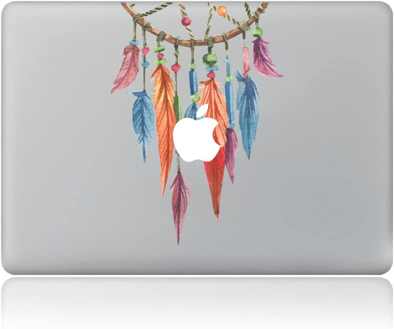 YK Mall Laptop Stickers MacBook Decal Colors Flower MacBook Sticker Partial Cover MacBook Pro Decal Skin MacBook Air 13 Sticker MacBook Deca Best Decorative Sticker (ZM)