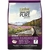 Canidae Grain Free Pure Stream Cat Dry Formula With Fresh Trout, 10 Lbs