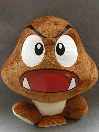 Mario Bro: Super Cute 8-inch Goomba Mushroom Plush ()