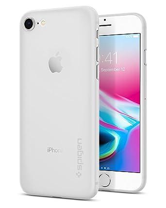 online store a4d67 e021c iPhone 7 Plus Case, Spigen Air Skin - Semi-Transparent Lightweight Material  for iPhone 7 Plus (2016) - Soft Clear