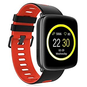 Amazon.com: Smart Watch GV68 Waterproof for Android & iOS ...