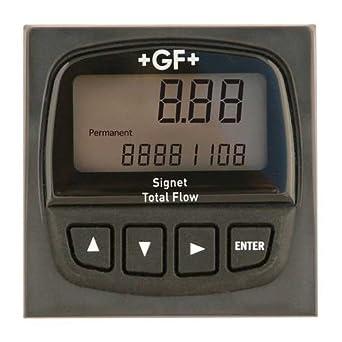 GF Signet 3-8150-1P Battery Powered Flow Transmitter, Panel