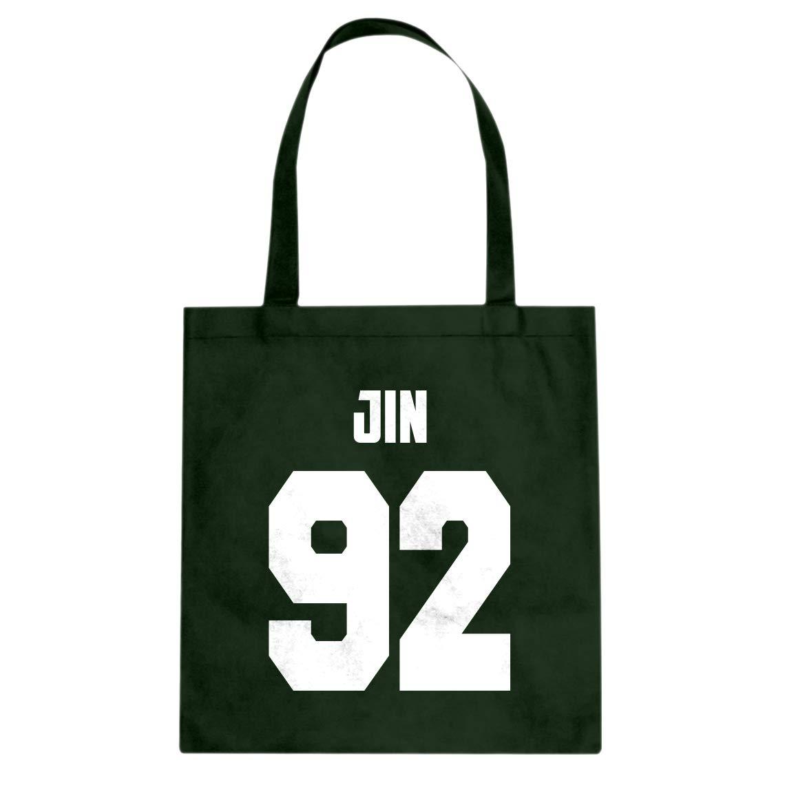 Indica Plateau Jin 92 Cotton Canvas Tote Bag