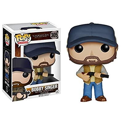 Funko POP TV: Supernatural - Bobby Singer Action Figure: Funko Pop! Television:: Toys & Games