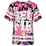 A2Z 4 Kids Girls Top Kids Designer's #Selfie Print Stylish Fashion Trendy T Shirt Top New Age 7 8 9 10 11 12 13 Years