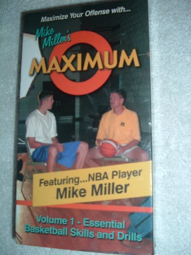 Mike Miller's Maximum O: Vol. 1 - Essential Basketball Skills and Drills ()
