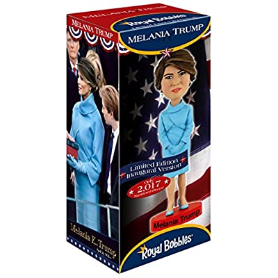 Royal Bobbles Melania Trump Limited Edition Bobblehead: Toys & Games