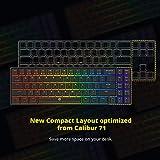 DREVO Calibur V2 TE RGB 60% Wired Mechanical Gaming
