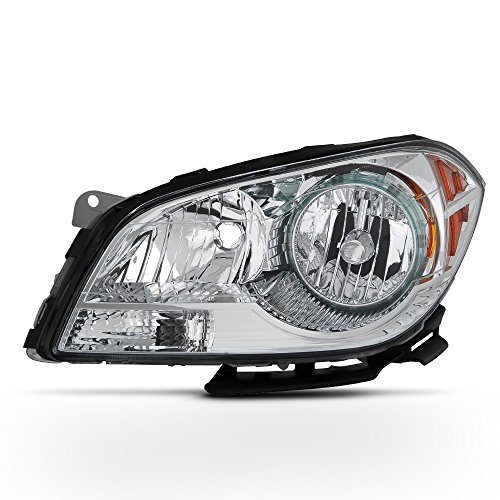 ACANII - For 2008-2012 Chevy Malibu Replacement Headlight Headlamp - Driver Side Only ()