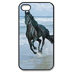 Horse Running and Beach Scene iPhone 4/4s Case Back Case for iphone 4/4s