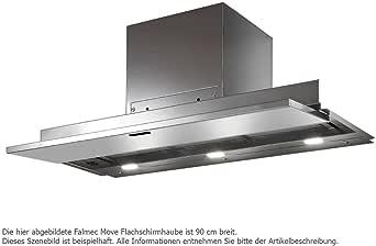 Falmec Campana extractora diseño Move empotrable 120 cm cristal blanco: Amazon.es: Grandes electrodomésticos