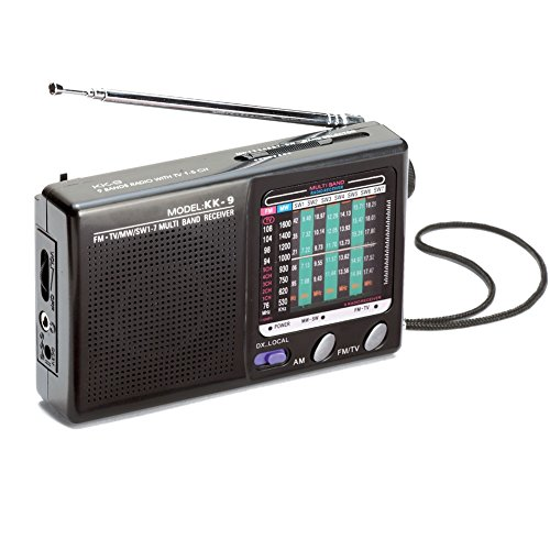 Portable Am Band Radio Black