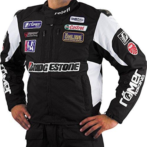 Roleff Racewear Motorradjacke Textil