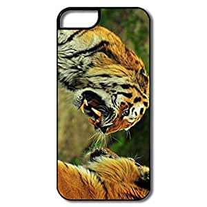 PTCY IPhone 5/5s Personalized Cool Tigers Roaring