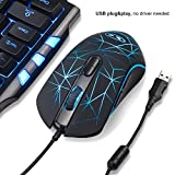 MageGee G6 wired gaming mouse with adjustable