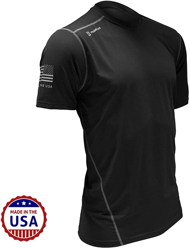 MudGear Fitted Race Jersey Short Sleeve - Performance Fabric Shirt for a Mud Run and Outdoor Sports