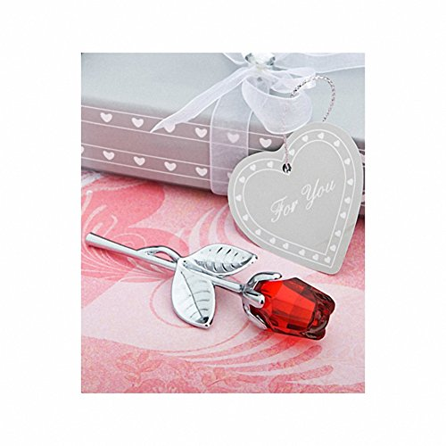 Favors Choice Crystal (Choice Crystal Collection Red Rose Favors, 1)