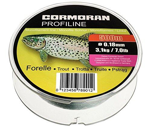 Cormoran Profiline Forelle hellgrau 0.22mm 4.4kg 450m