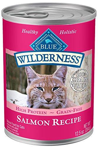 Blue Wilderness Adult Grain Free Salmon Pate Wet Cat Food 12.5-Oz (Pack Of 12)