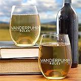 lisa vanderpump wine - Vanderpump Rules Stemless Wine Glasses - Set of 2