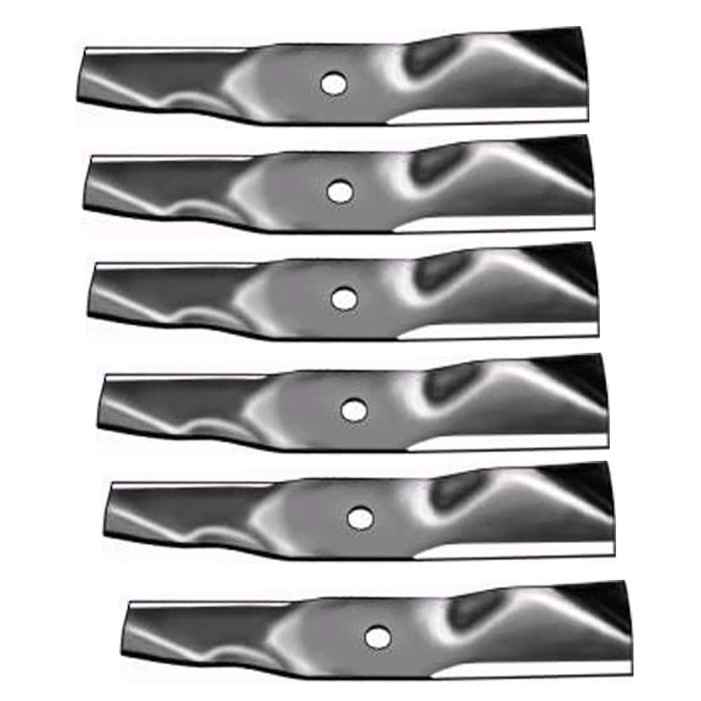 AM141034 2 PACK JOHN DEERE Aftermarket Premium Replacement XHT 21-3//8 x 2-3//4 7 Lobe High Lift Lawn Mower Deck Blade