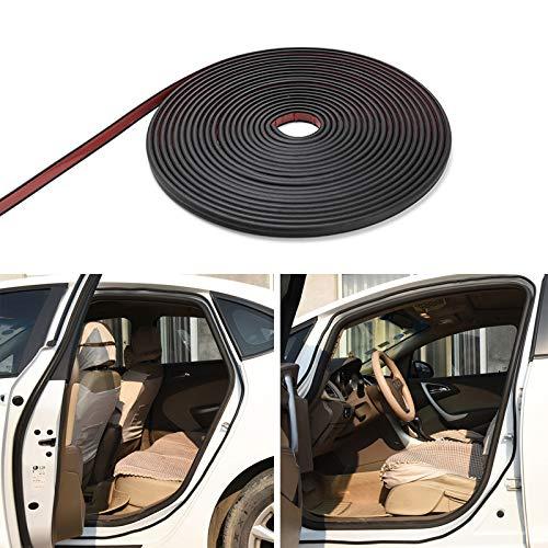 Cacys-Store - Car Door Seal Edge Trim Noise Insulation Seal Strip For Chevrolet Cruze Orlando Lacetti Lova Sail EPICA Malibu Volt Camaro