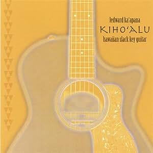 Kihoalu Hawaiian Slack Key Guitar