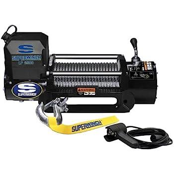 Superwinch 1585202 LP8500 Winch Gen II 12 VDC 8500lbs/3856kg, steel hawse, handheld remote