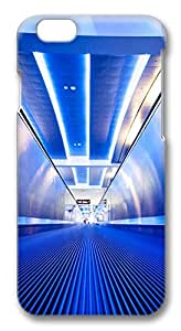 ACESR Custom iPhone 6 Cases, Subway Tunnel PC Hard Case Cover for Apple iPhone 6 (4.7 INCH) - 3D Design iPhone 6 Case
