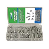 Grip Nut & Bolt Assortment-Sae, 240 Piece