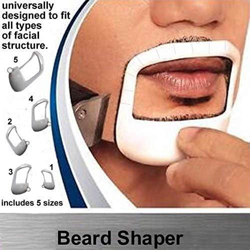 Guía para Barba Excelente para Afeitar Tu Bigote Barba Recortar Y ...