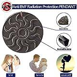 quantum scalar energy pendant - Anti EMF Radiation Protection PENDANT,Far Infrared & Scalar Energy Volcanic Lava, Reverse Aging.Joint Pain.Blood Circulation