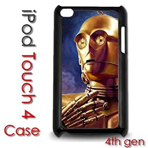 For HTC One M7 Case Cover gen Touch Plastic Case - Star Wars C3PO