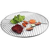 Grille ronde en acier inoxydable 54,5cm Pour barbecue boule et Weber 57