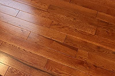 "Elk Mountain Oak Gunstock 3/4 x 2-1/4"" Solid Hardwood Flooring SAMPLE"