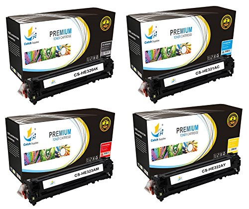 Catch Supplies Replacement HP 128A toner cartridge 4 pack...
