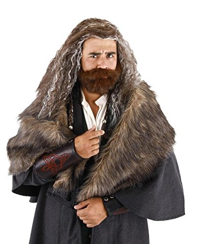 elope Lord of the Rings The Hobbit Oakenshield Beard and Wig (Thorin Oakenshield Costume)