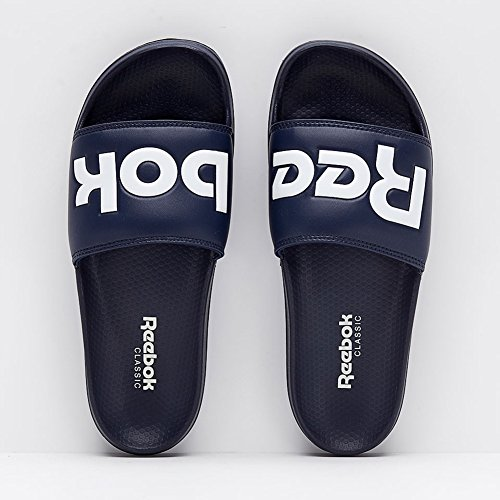 Reebok Heren Classic Slide Atletische Water Schoen College Navy / Wit