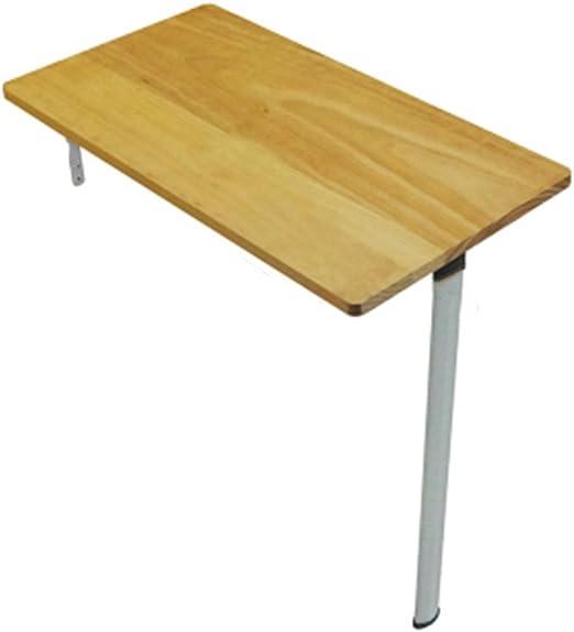 mesa plegable ZHIRONG Mesa de Madera para Colocar en la Pared ...