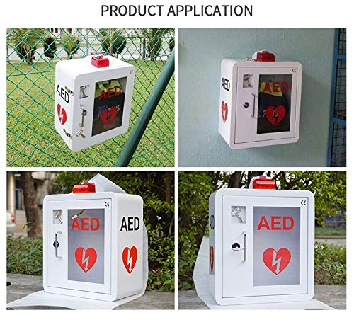 AED Cabinet fits All Brands Cardiac Science, Zoll, Defibtech