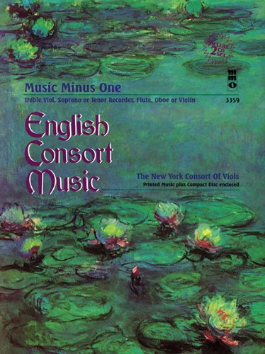 English Consort Music: Music Minus One Recorder Deluxe 2-CD Set