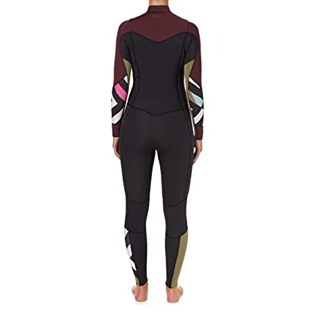 2727154f1d BILLABONG 2017 Ladies Salty Dayz 5 4mm Chest Zip Wetsuit MULBERRY F45G15   Amazon.co.uk  Sports   Outdoors