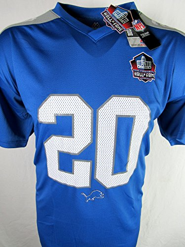 Detroit Lions Mens 3XL Barry Sanders #20 Hall of Fame Jersey ALIO 101 3X (Hall Sanders Fame Barry Of)