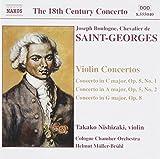 Saint-George: Violin Concertos