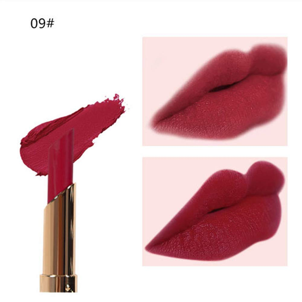 Amazon.com : Clearance Matte Lipstick Long Lasting for Girls, Iuhan Womens Cosmetics Matte Pumpkin Color Bean Paste Lip Solid Gloss Lipstick Long Lasting ...