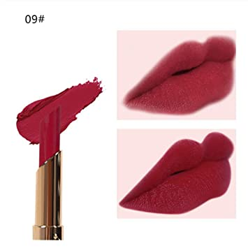 Clearance Matte Lipstick Long Lasting for Girls, Iuhan Womens Cosmetics Matte Pumpkin Color Bean Paste